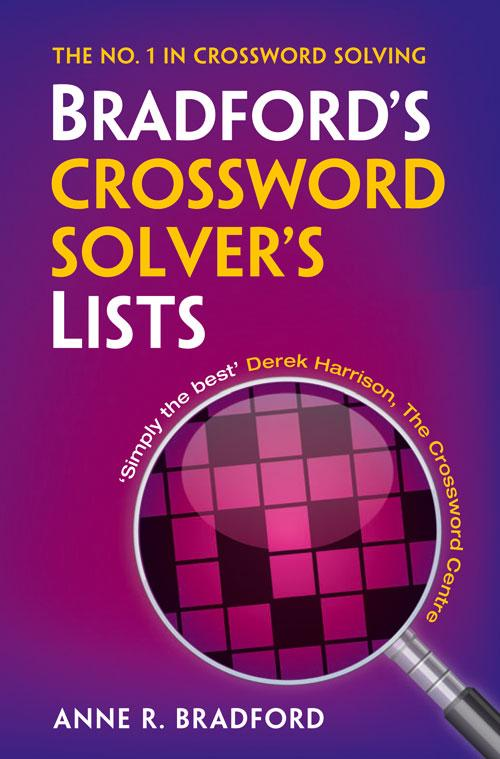 Bradfords Crossword Solvers Lists 3rd