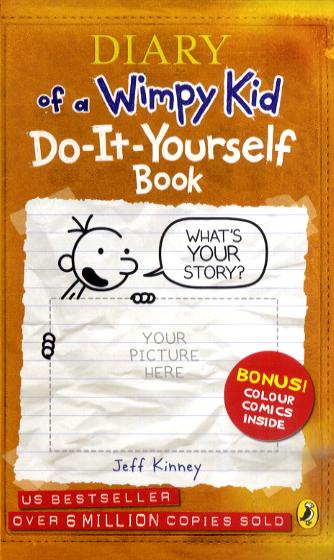 Diary Of A Wimpy Kid Do It Yourself Book