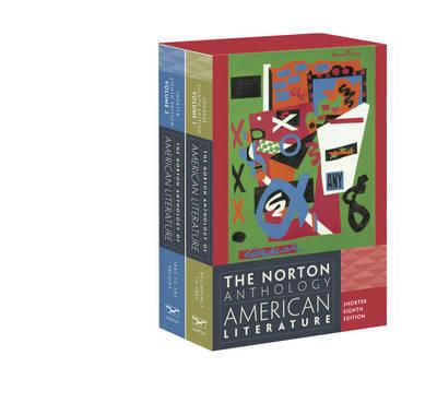 Norton Anthology of American Literature: Shorter 8th ed vol 1&2