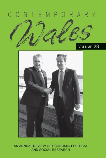 Contemporary Wales Volume 23  Perfect Paperback  by